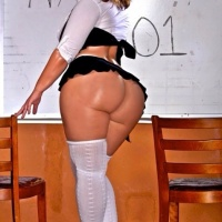 Naughty booty