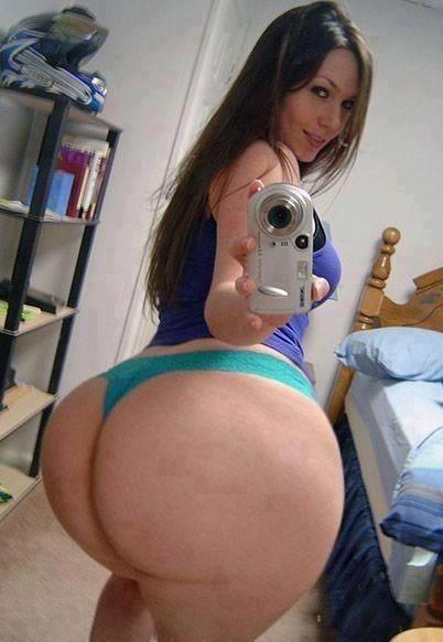 Dammm that's a big booty